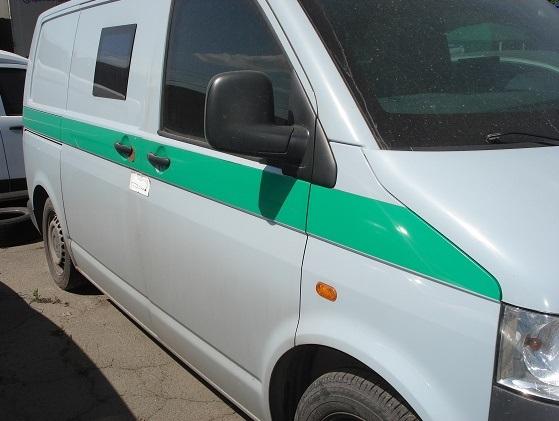 Вантажний малотоннажний спеціалізований автомобіль VOLKSWAGEN TRANSPORTER KASTEN, рік випуску 2007, номер кузова, шасі WV1ZZZ7HZ8H031114, державний номер АА9087НА та банкомат